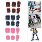 Kids and Teens Elbow Knee Wrist Protective Guard Safety Pads Skate Travel #gr image