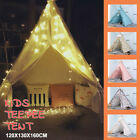 Large Land Indian Cotton Canvas Kids Teepee Tent Childrens Wigwam Indoor Playten