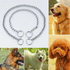 1Pc Stainless Steel Pet Dog Collar Pet Dog Training Chain For Medium Large Dogs