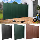 Pvc Fence Slat Fencing Garden Privacy Screen Roll Outdoor Wind Panel Enclosure