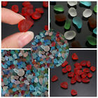 20/40/60x Sea Beach Glass Beads Mixed/Red Colors Bulk Jewelry Pendant Decoration
