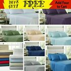 EGYPTIAN COMFORT 2100 COUNT 6 PIECE BED SHEET SET DEEP POCKET ALL SIZE/COLOR image