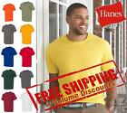 Hanes Ecosmart Mens Short Sleeve Blank 50/50 T Shirt 5170 up to 4XL image