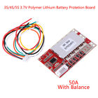 3S 4S 5S 37V Polymer Lithium Battery PCB BMS Charge Protection Board Balance VV
