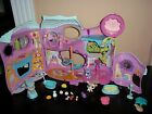 ittlest Pet Shop Tail Waggin Fitness Center Gym Playset House Lot