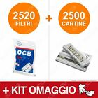 2520 Filtri OCB Slim + Cartine a Scelta Rizla Enjoy Freedom Smoking Bravo Rex