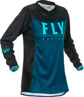 Fly Racing Youth Girls Navy/Blue/Black Lite Dirt Bike Jersey MX ATV 2020