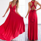 Women Sexy Boho Maxi Dress Bandage Long Dress Party Bridesmaids Skirt Clubwear