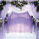 5m Crystal Tulle Fabric Organza Craft for Supplies Wedding Party DIY Decoration