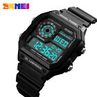 SKMEI Mens Watches Outdoors Sport Rubber Chronograh Digital Wristwatches 1299 image