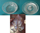 HAWKES CRYSTAL BOWLS AND TUMBLERS PICK ONE
