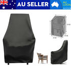 3x Waterproof Chair Cover Patio Outdoor Garden Furniture Protector Shelter 89cm