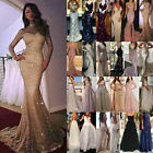 Women Formal Gown Wedding Bridesmaid Evening Party Bodycon Prom Cocktail Dress