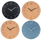 12 Number Simple Decorative Hanging Clock Gift Bedroom Eco-friendly Wall Clock