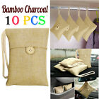15X Bamboo Charcoal Activated Carbon Air Freshener Bag Car Purifier Deodorant US