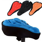 3D Breathable Silicone Case Bicycle Bike Seat Pad Saddle Cover Soft Cushion