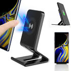 Qi Wireless Fast Charger Charging Pad Stand Dock For Samsung Galaxy S9+ iPhone X