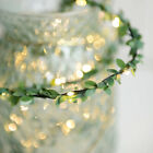 Ivy Leaves LED Fairy String Lights Battery/USB Garland Indoor Wedding Decor New