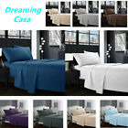 Egyptian Comfort 1800 Count 4 Piece Deep Pocket Bed Sheet Set King Queen Size H5 image