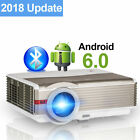 1080P Bluetooth Android Projector WiFi Home Theater HDMI Miracast Airplay Kodi