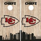 Kansas City Chiefs Cornhole Wrap NFL Game City Skyline Skin Vinyl Decal CO869 $39.95 USD on eBay