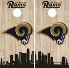 Los Angeles Rams Cornhole Wrap NFL Game City Skyline Skin Vinyl Decal Set CO871 $39.95 USD on eBay