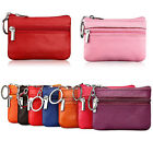 Fashion Women Leather Coin Purse Wallet Clutch Zipper Small Charge Soft Bag Mini image