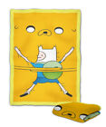Adventure Time Jake and Finn Blanket (40X30 inch) / (60x50 inch) / (80x60 inch)