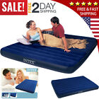 Air Bed Mattress Queen/Twin Size Intex Inflatable Downy Sleeping Camping In New