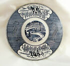 Currier & Ives Royal China Blue & White Casserole LID Only Excellent condition!