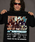 KISS Band T-Shirt End of the Road Farewell Tour 2019 Anniversary Gift MenWomen image