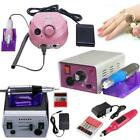 Hot Professional Nail Art Manicure Tool Pedicure Electric Drill File Machine Kit