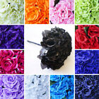 4 OPEN High Quality VELVET Roses Wedding Bouquets Arrangements Centerpieces SALE