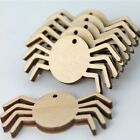 Halloween Spider Unfinished Wood Cutouts Earrings Jewelry Blanks Craft ALL SIZES