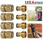 3/4' Garden Hose Quick Connect Water Hose Fit Brass Female Male Connector Set