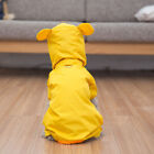 Pet Dog Raincoat Cute Animal Waterproof Clothes Jacket For Small Dog Cat New