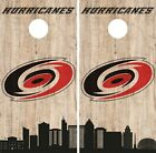 Carolina Hurricanes Cornhole Wrap NHL Game City Skyline Skin Vinyl Decal CO890 $39.95 USD on eBay