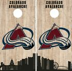 Colorado Avalanche Cornhole Wrap NHL Game City Skyline Skin Vinyl Decal CO892 $39.95 USD on eBay