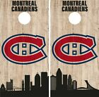Montreal Canadiens Cornhole Wrap NHL Game City Skyline Skin Vinyl Decal CO900 $39.95 USD on eBay