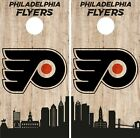 Philadelphia Flyers Cornhole Wrap NHL Game City Skyline Skin Vinyl Decal CO905 $39.95 USD on eBay