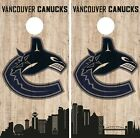 Vancouver Canucks Cornhole Wrap NHL Game City Skyline Skin Vinyl Decal CO911 $39.95 USD on eBay