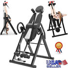 Inversion Table Back Therapy Fitness Pain Hang Gravity Relief Heavy Duty New image