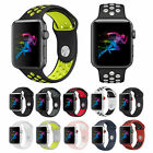 Kyпить Silikon Sport Band Armband für Apple Watch iWatch Nike Band Series 5 4 3 2 1  на еВаy.соm