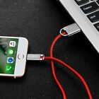 For iPhone 11 Pro Xr X 8 7 6 Plus Lightning Cable Led Indicator Usb Charger Cord