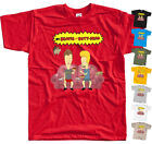 Beavis i Butt-Head V8 Serial TV 1993 cartoon movie T SHIRT All sizes S to 5XL