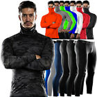 DRSKIN Mens Compression Base Layer Tight T Shirts Turtleneck Pants leggings Gym