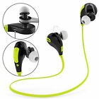 Sports In-Ear Bluetooth Earphones Headphone Fit to Apple Samsung For Gym Jogging