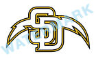 San Diego Padres Chargers MASH UP Vinyl Decal / Sticker 10 Sizes!!! $3.99 USD on eBay