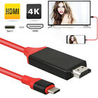 Type C to HDMI 1080P HD TV Cable Adapter For Android Phones Samsung US New