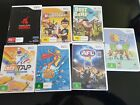 VARIOUS NINTENDO Wii GAMES~MARIO & SONIC-AFL-GOLF-BOOTCAMP-OVERKILL-STAR WARS~GC